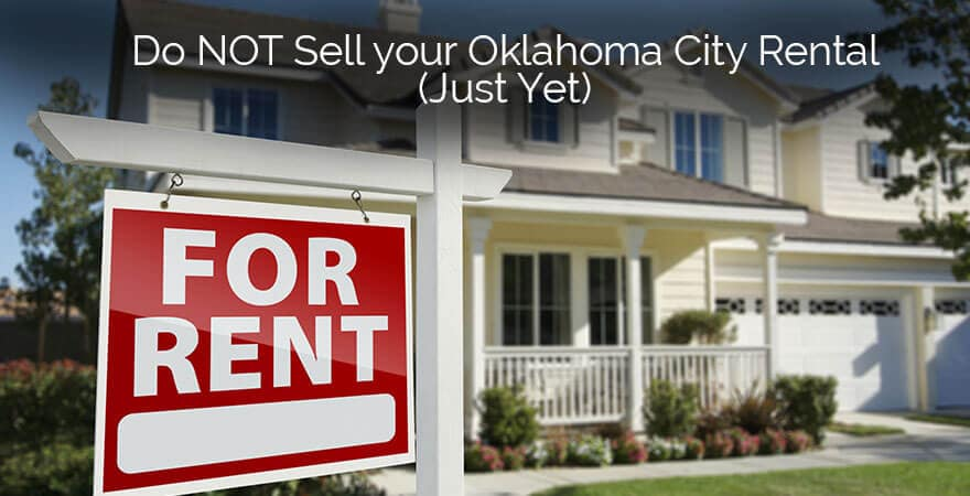 How to Fix Negative Cash Flow so you won't need to Sell Your OKC Rental Properties (Part 1)