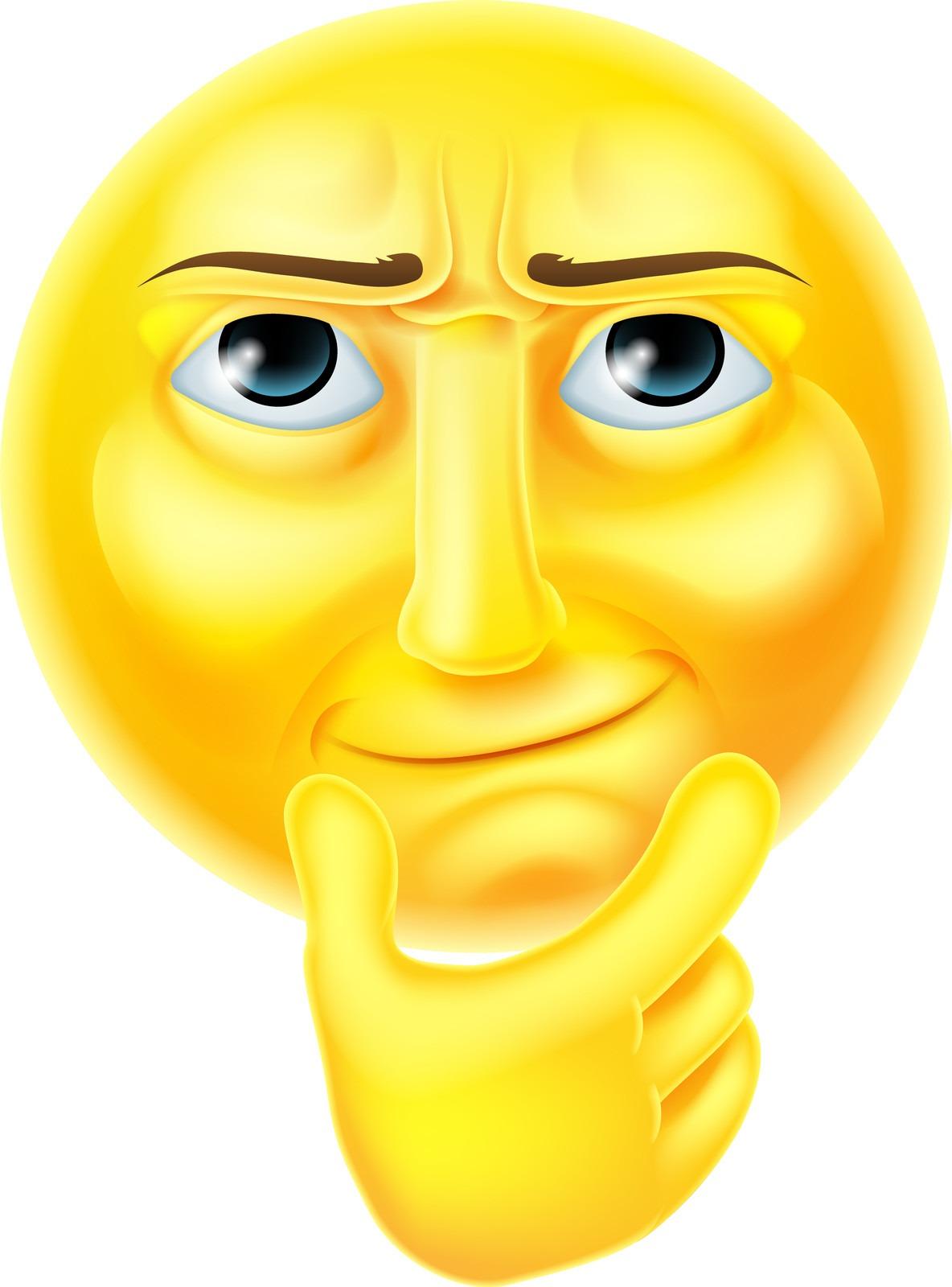 thinking emogi