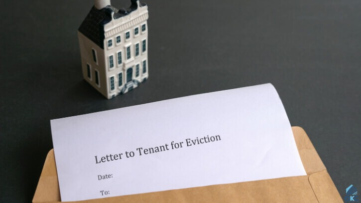 Termination notice for tenant