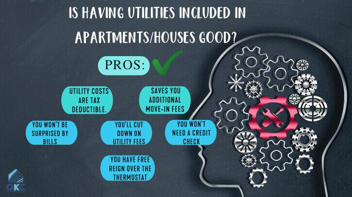 pros and cons of utility included rent