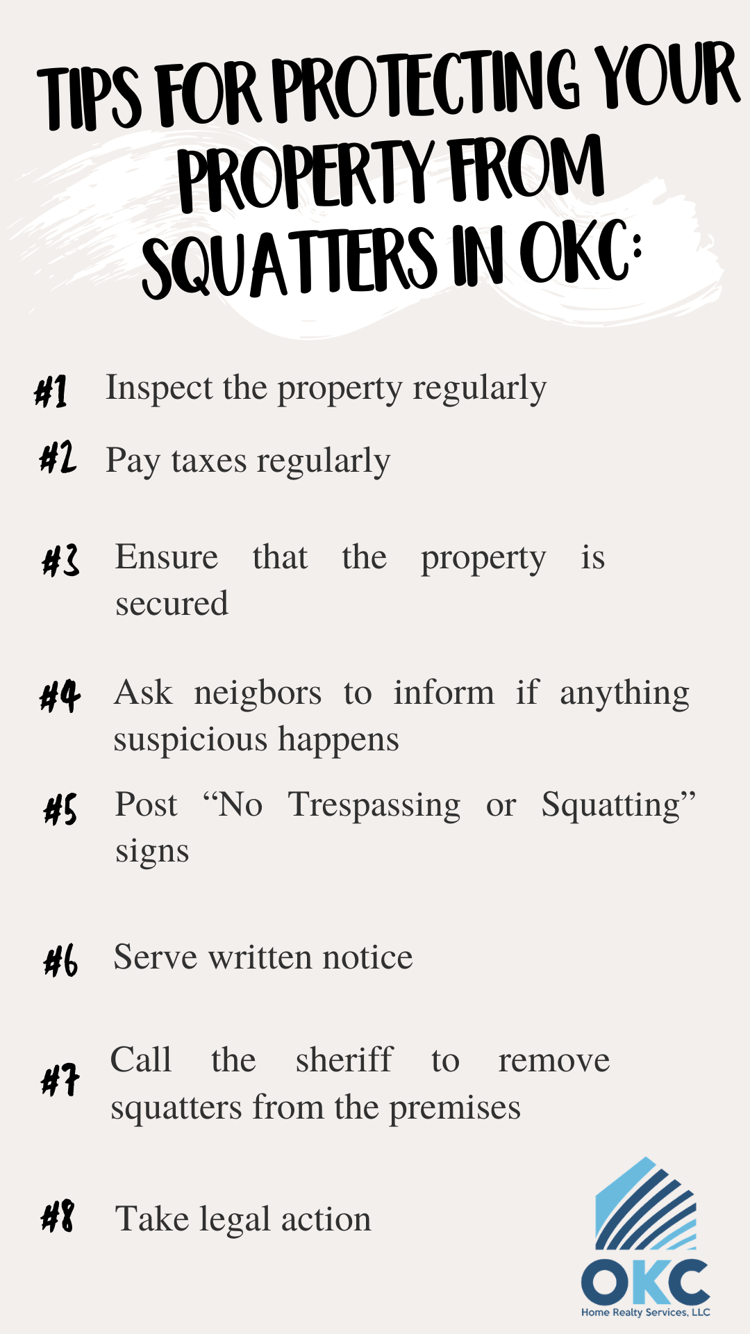 Tips for protecting your property from squatters in OKC