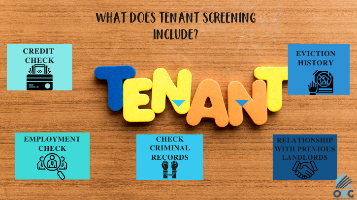 what does tenant screening include