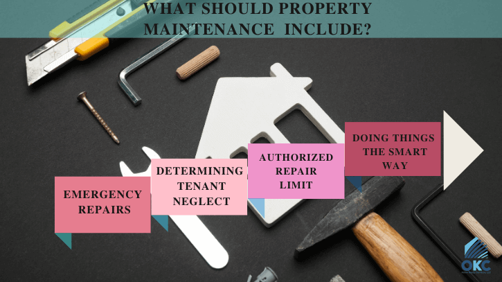things property maintenance should include