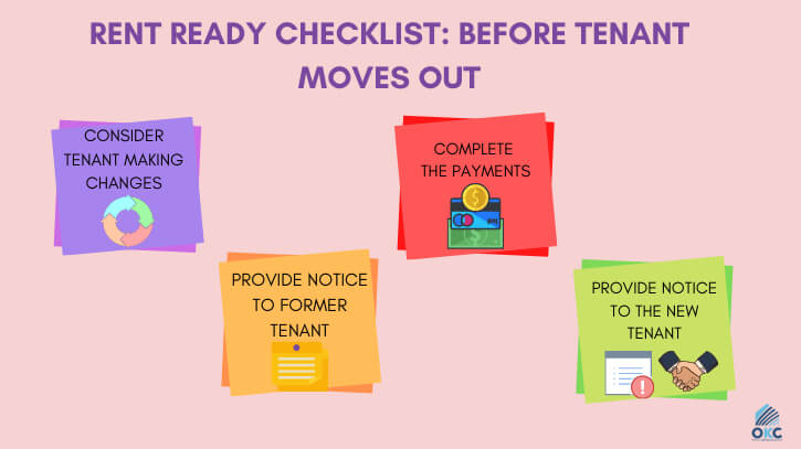 Rent Ready Checklist: Before Tenant Moves Out