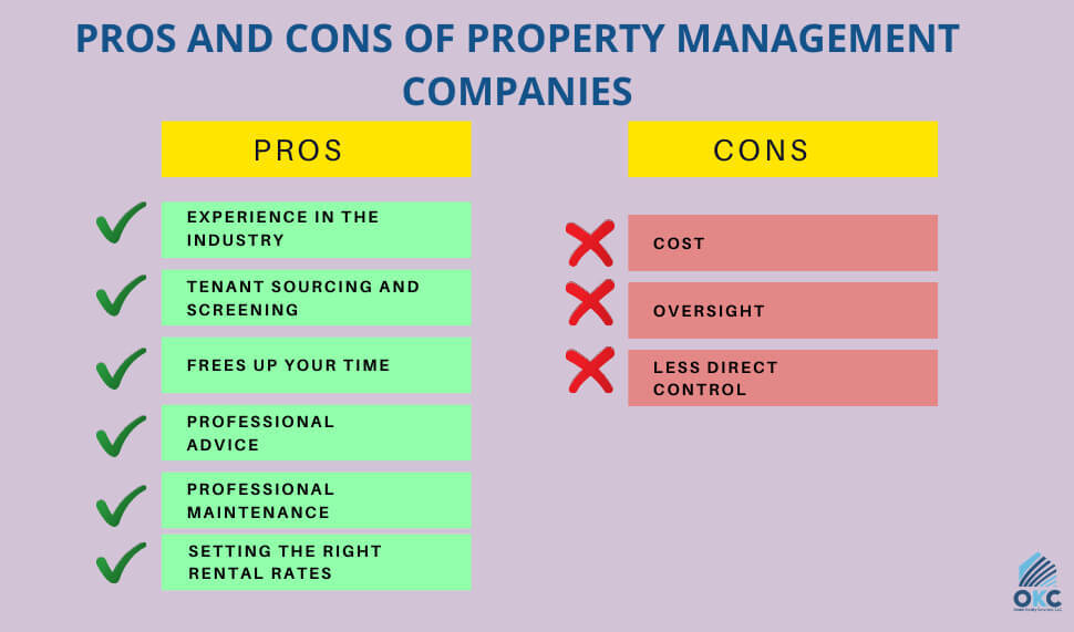 pros and cons of property management