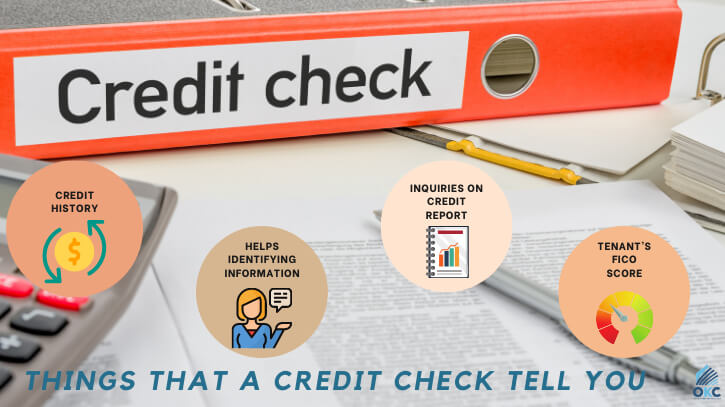what does a credit check tell you
