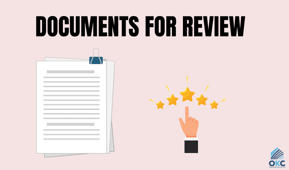 DOCUMENTS FOR REVIEW