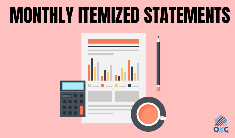Monthly Itemized Statements