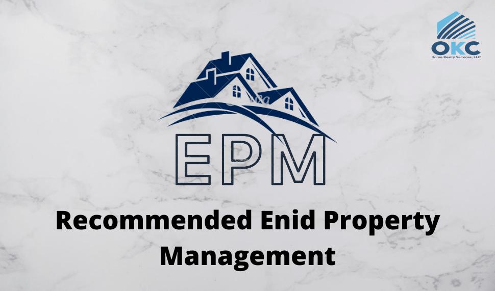 Enid property management