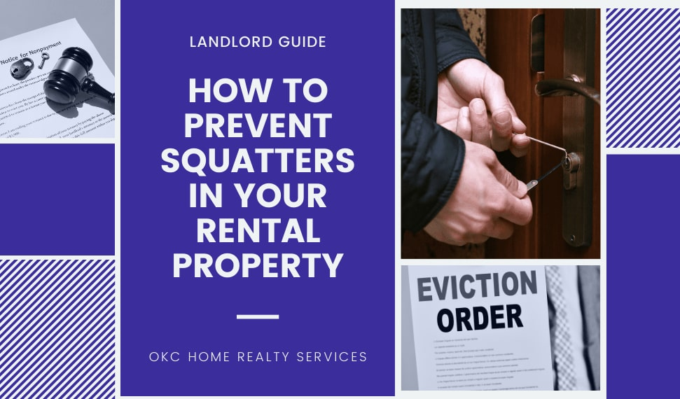 how to prevent squatters in rental property