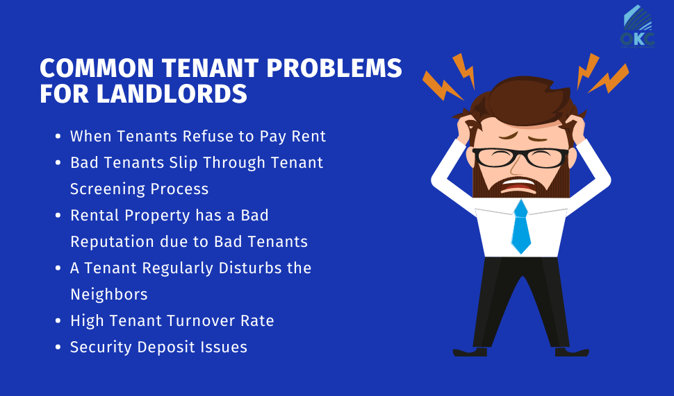 Common Tenant Problems For Landlords 1