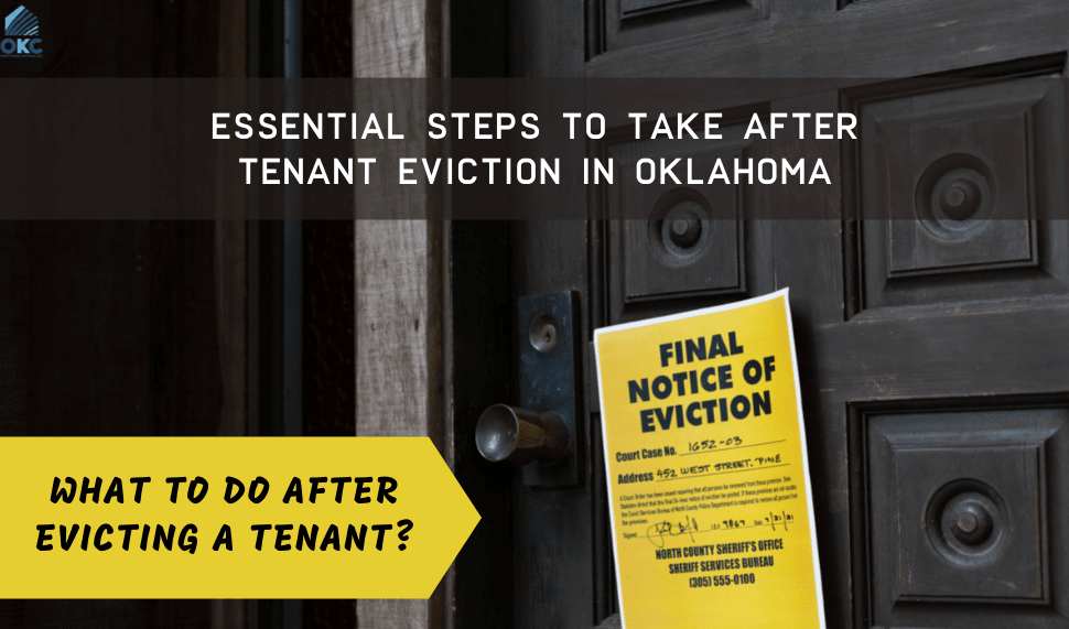 what to do after evicting a tenant