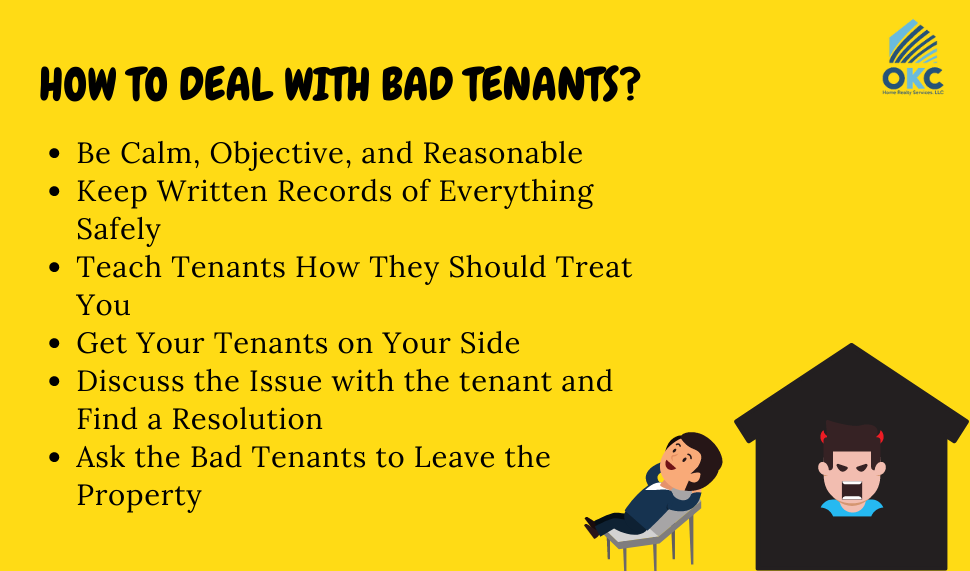 how to deal with bad tenants in oklahoma