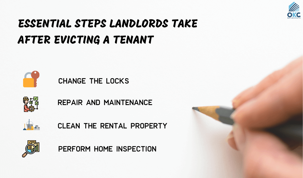 what to do evicting a tenant in oklahoma