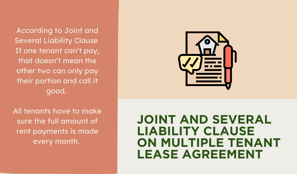 Joint and several liability clause